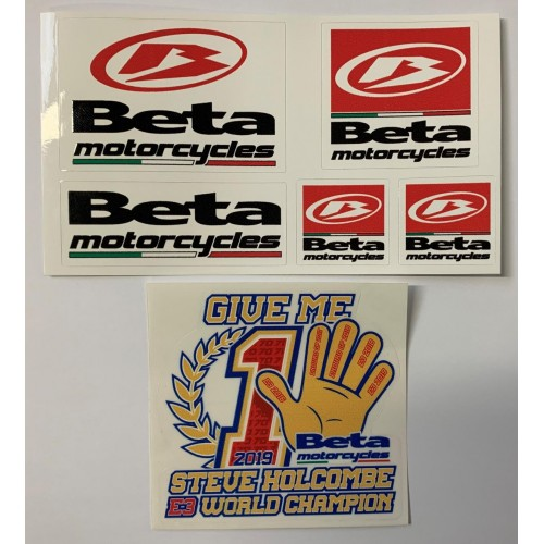 BETA STICKERS