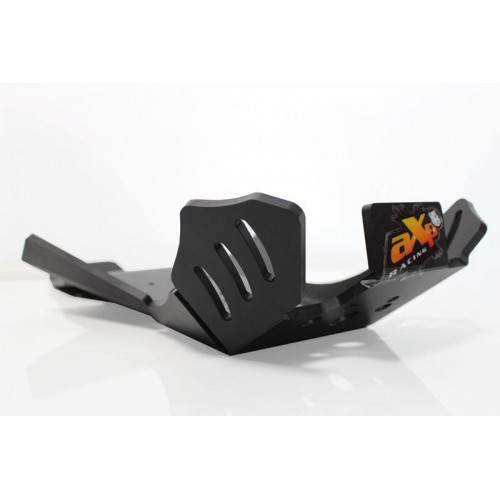 AXP XTREM HDPE SKID PLATE BLACK 125/200RR 20-22